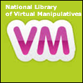 icon of letters V and M and National Library of Virtual manipulatives